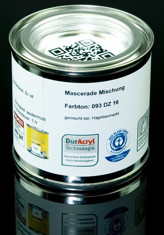 Acryllack; Mascerade Farbton